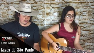 Luzes de São Paulo - Chrystiann e Karen (Fernando e Sorocaba) Cover