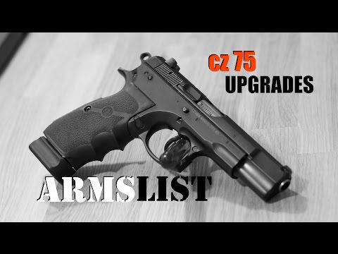 Simple upgrades for the CZ-75 pistol