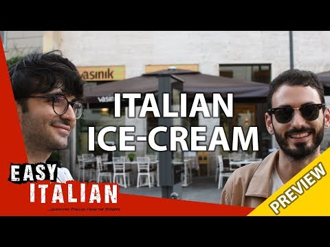 Italian ice-cream (PREVIEW) | Easy Italian 22 photo