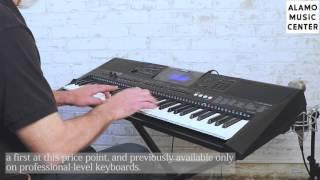 Yamaha PSR-E453 Demo & Review