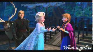 What a girl is - Dove Cameron (Frozen)