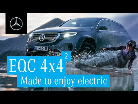 The Mercedes-Benz EQC 4x4²: Made to Enjoy Electric