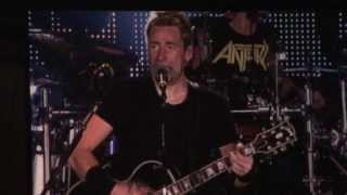 Nickelback - When We Stand Together live || Torwar, Warsaw, 2.11.13