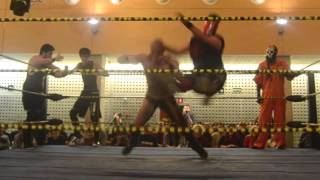 SPANISH PRO WRESTLING: Masacre (Highlights)