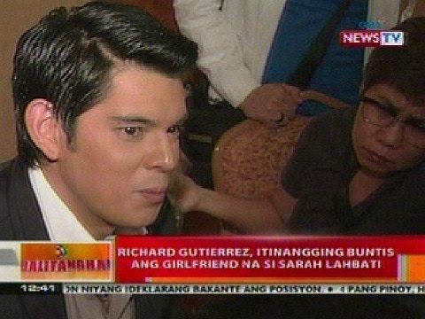 Richard Gutierrez, itinangging buntis ang girlfriend na si
