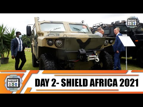 ShieldAfrica 2021  News Show Daily Day 2 Security and Defense Exhibition in  Abidjan Côte d'Ivoire