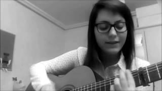 Me sabe a poco- Manuel Carrasco COVER, letra, acústico, guitarra