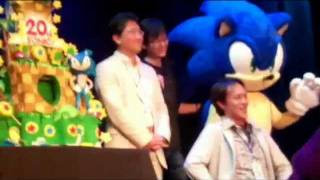 Sonic Boom 2011: Part 6: Special Guests, Cake, Dance Off!