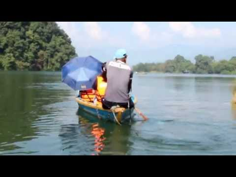 Nepal Pohkara 費娃湖遊船