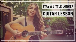 Stay a Little Longer - Brothers Osborne | Guitar Lesson