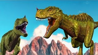 Jenis-jenis Dinosaurus   Dinosaurus Kartun   Video pendidikan anak   T-Rex   Compys   Pterodactyls width=