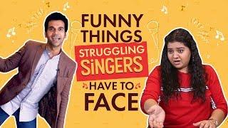 Rajkummar Rao, Pihu Sand : Things Struggling Singers Face | Fanney Khan | Bollywood | Pinkvilla