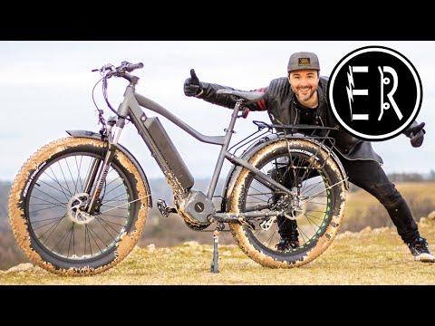 1000 WATT MID-DRIVE MUD MONSTER! Eunorau Fat-HD fat tire electric bike review 2020