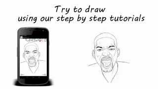 How to Draw Celebrities, featuring Will Smith, Katy Perry, Johnny Depp