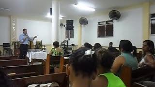 Adecin Cel. Travassos - Dc. Edson Andrade prega no Círculo de Oração.