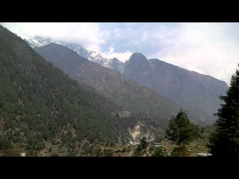 SANY0063.MP4 Cheplung-Thadokosi-Ghat(ナムチェ-ルクラ間) / Everest Trekking View