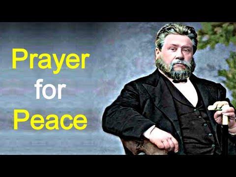 Prayer for Peace - Charles Spurgeon Devotional: Faith's Checkbook