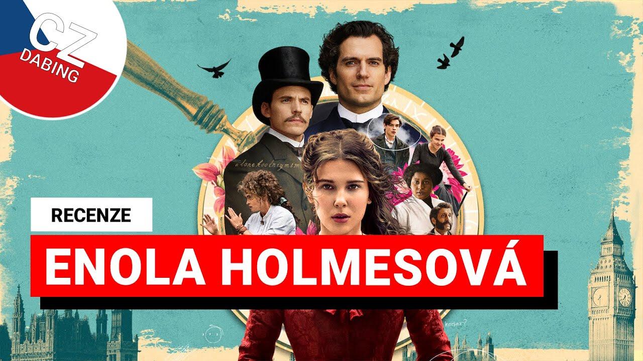 RECENZE: Enola Holmesová - Eleven ze Stranger Things jako detektiv