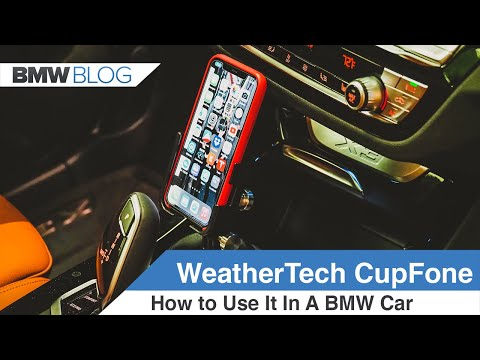 WeatherTech CupFone Two View - How To Install It and How To Use It
