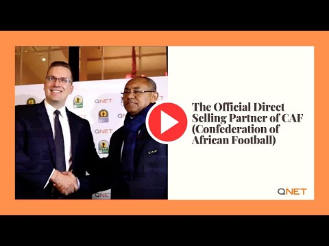 QNET is the Official Direct Selling Partner of CAF (Confederation of African Football)