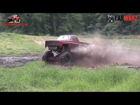 HAPPY HOOKER Mega Truck Mudding At Bentley Lake Road Mud Bog Fall 2018