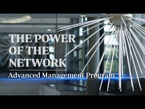 The Power of the Network. IESE Advanced Management Program