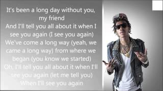 Wiz Khalifa ft Charlie Puth - See You again (Lyrics)