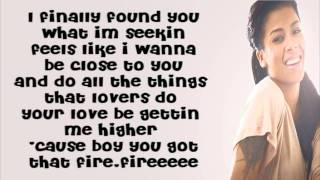 Keyshia Cole-Take Me Away(Lyrics)