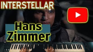 Hans Zimmer - Interstellar - Main Theme  ( PIANO VERSION ) TRAILER - KEYSCAPE