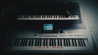 Akcent - Jeśli Kochasz | DISCO POLO | KARAOKE | Cover Yamaha psr s710