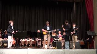 The Blazers Rock St. Bernards with Old Time Rock n' Roll
