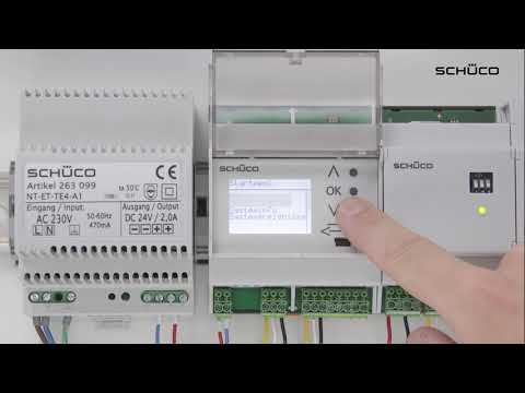 Schüco Building Skin Control - Manueller Adressierungsprozess mit dem Automationsmanager