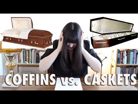 MORBID MINUTE: Coffins vs. Caskets