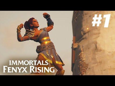 Immortals Fenyx Rising (2020) Gameplay Walkthrough   Part 1 [PS4 1080p 60FPS] (No Commentary)