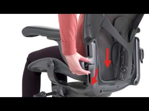 Adjusting Aeron Chairs