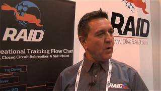Paul Toomer talks about the dive courses that RAID offers