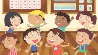 Head Shoulders Knees & Toes, Spanish version | Kids' Songs