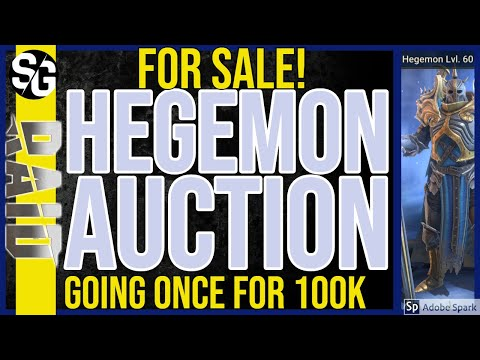 RAID SHADOW LEGENDS | HEGEMON FOR SALE! LUL