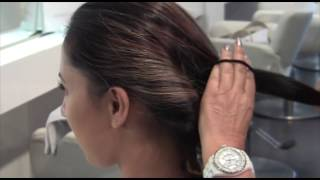 Ponytail With A Twist Hairstyle Tutorial