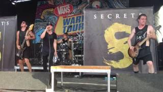 Secrets - Rise Up Live (Warped Tour 2016)