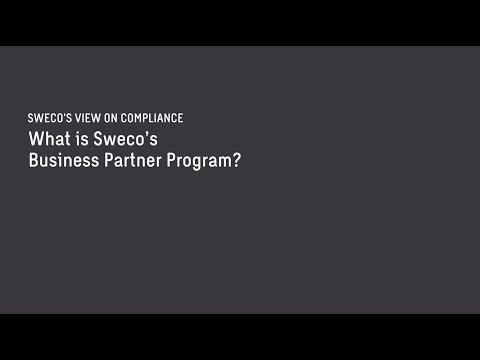What is Sweco's Business Partner Program?