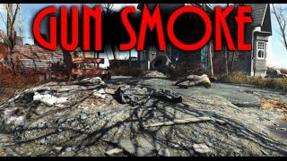 Gun Smoke Showcase ~ Fallout 4 mod