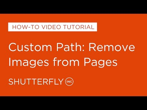 Custom Path: Remove Images from Pages