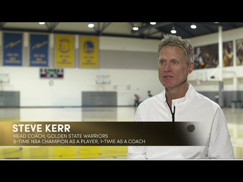 Golden State's Bob Myers and Steve Kerr on #TheWoodenEffect