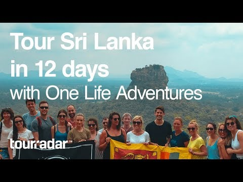 Travel Sri Lanka in 12 days with One Life Adventures
