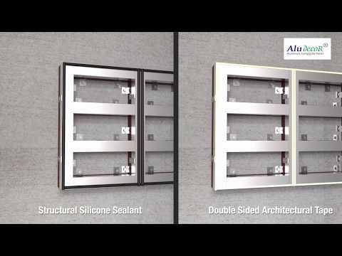 Aludecor ACP Paste Installation