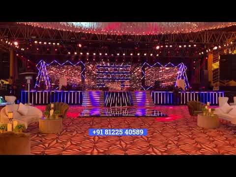 3D LED Stage Decoration Chennai | Coimbatore | Hyderabad | Bangalore +91 81225 40589