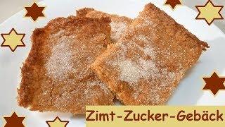 Blitzrezept: Zimt-Zucker-Gebäck, in 5 Minuten bereit für den Ofen!