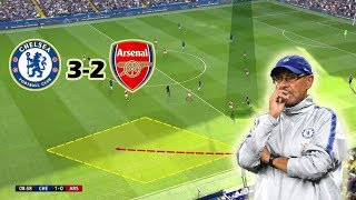 A Game of Ups and Downs   Chelsea vs Arsenal 3-2   Tactical Analysis width=