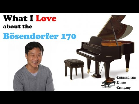 What I Love About the Bösendorfer 170 Small Parlour Grand Piano